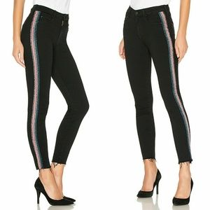 MOTHER High Waisted Looker Ankle Fray $228